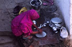 washing up India